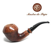 Mastro de Paja  - 1B P Bulldog Pipe  - 9mm Filter