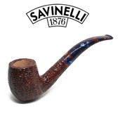 Savinelli -  Fantasia Rusticated Pipe - 606 - 6mm Filter