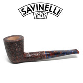 Savinelli -  Fantasia Rusticated Pipe - 409 - 6mm Filter