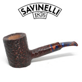 Savinelli -  Fantasia Rusticated Pipe - 311 - 6mm Filter