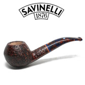 Savinelli -  Fantasia Rusticated Pipe - 673 - 6mm Filter
