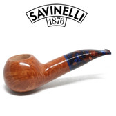 Savinelli -  Fantasia Smooth Natural Pipe - 320 - 6mm Filter