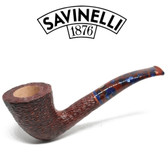 Savinelli -  Fantasia Rusticated Pipe - 920 - 6mm Filter