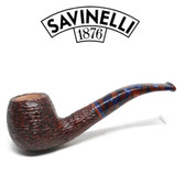 Savinelli -  Fantasia Rusticated Pipe - 626 - 6mm Filter