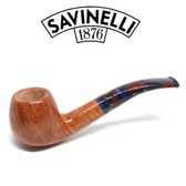 Savinelli -  Fantasia Smooth Natural Pipe - 626 - 6mm Filter