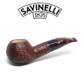 Savinelli -  Fantasia Rusticated Pipe - 320 - 6mm Filter