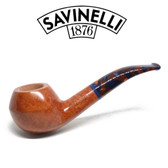 Savinelli -  Fantasia Smooth Natural Pipe - 673 - 6mm Filter