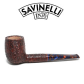 Savinelli -  Fantasia Rusticated Pipe - 111 - 6mm Filter