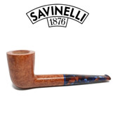 Savinelli -  Fantasia Smooth Natural Pipe - 409 - 6mm Filter