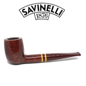 Savinelli  - Regimental  - Smooth - 128 - 9mm