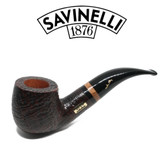 Savinelli - Collection Sandblast Black 2019 - P110C - 6mm