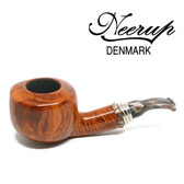 Neerup - Classic  Series -  Gr 2  Squat Pot Pipe  (Smooth) 9mm