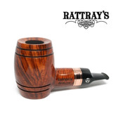 Rattrays - Devil's Cut - Terracotta -  Reverse Calabash - 9mm Filter Pipe
