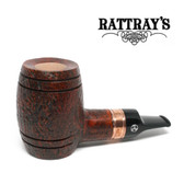 Rattrays - Devil's Cut - Sandblast -  Reverse Calabash - 9mm Filter Pipe