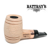 Rattrays - Devil's Cut - Natural Sandblast -  Reverse Calabash - 9mm Filter Pipe