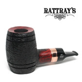 Rattrays - Devil's Cut - Rustic -  Reverse Calabash - 9mm Filter Pipe