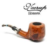 Neerup - Classic  Series -  Gr 2  Pot Pipe  (Sandblast Patches) 9mm