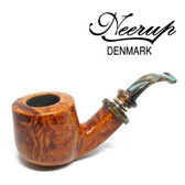 Neerup - Classic  Series -  Gr 2 Pot Bent  Pipe  (Smooth) 9mm