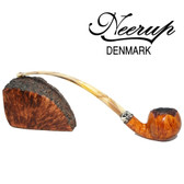Neerup - Classic Series -  Gr  2 Churchwarden Pipe 5 (Smooth) 9mm