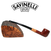Savinelli -  Qandale 901 - Smooth - 9mm Filter