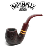 Savinelli  - Regimental  - Rustic - 614 - 6mm