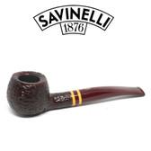 Savinelli  - Regimental  - Rustic - 315 - 6mm