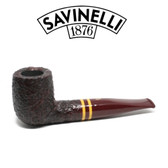 Savinelli  - Regimental  - Rustic - 101 - 6mm