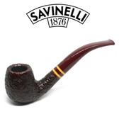 Savinelli  - Regimental  - Rustic- 602 - 9mm