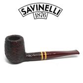 Savinelli  - Regimental  - Rustic - 128 - 6mm