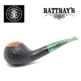 Rattrays - Fudge -  17 Sandblast Black - 9mm Filter Pipe