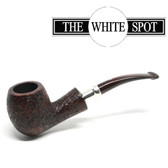 Alfred Dunhill - Cumberland  - Group 4  - Quaint Silver Band - White Spot