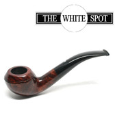 Alfred Dunhill - Amber Root - 2 108 - Group 2 - Bent Bulldog - White Spot