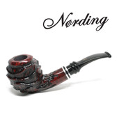 Erik Nørding - Royal Flush - Queen #1 - 9mm Filter Pipe