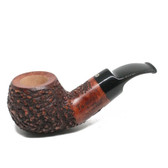 Talamona by Paolo Croci - Reverse Calabash (Rustic) - Pipe