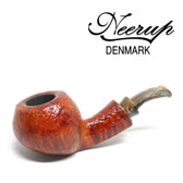 Neerup - Basic Series -  Gr 2  Tilted Apple Pipe (Sandblast) 9mm