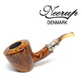 Neerup - Classic  Series -  Gr 2 Bent Dublin Sitter  Pipe  (Smooth) 9mm