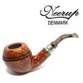 Neerup - Classic  Series -  Gr 4 Bent Bulldog  Pipe  (Smooth) 9mm