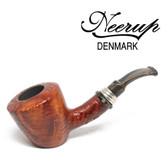 Neerup - Classic  Series -  Gr 2 Bent Dublin Sitter  Pipe  (Sandblast)