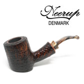 Neerup - Basic Series -  Gr 2  Poker Pipe (Sandblast) 9mm