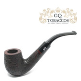 GQ Tobaccos - Merlot Briar - Bent Billiard Pipe