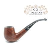 GQ Tobaccos - Tawny Briar - Bent Billiard Pipe