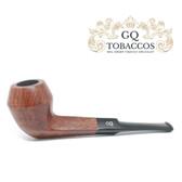 GQ Tobaccos - Tawny Briar - Tilted Bulldog Pipe