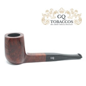GQ Tobaccos - Auburn Briar - Panelled Billiard Pipe