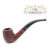 GQ Tobaccos - Merlot Briar - Bent Billiard Pipe (1)