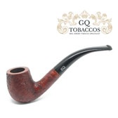 GQ Tobaccos - Merlot Briar - Bent Billiard Pipe (1)