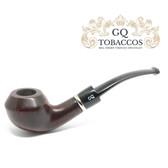 GQ Tobaccos - Auburn Briar - Bent Rhodesian Pipe