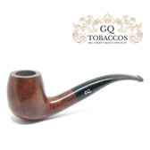 GQ Tobaccos - Truffle Briar - Semi Bent Billiard Pipe