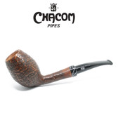 Chacom - Selected Straight Grain - Sandblast X - Semi Bent Egg Pipe