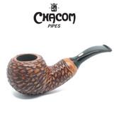 Chacom - Reverse Calabash  - Rustic  Pipe