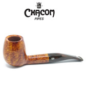Chacom - Coffret Tan  - Semi Bent Billiard -  9mm Filter Pipe